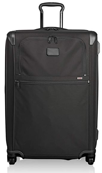 Tumi Maleta trolley laptop, Medium Trip, 74 mm, negro - negro, 022067D2_Black_74