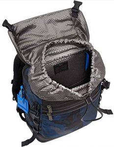 Tumi mochila Alpha Bravo blue camuflaje tejido interior