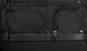 mochila Tumi negocios Alpha2 para portátil bolsillos inferiores