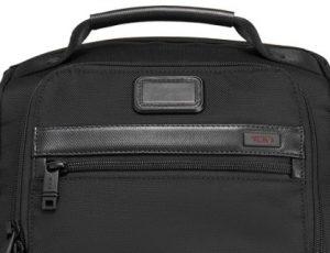 mochila Tumi negocios Alpha2 para portátil cremallera y asa superior