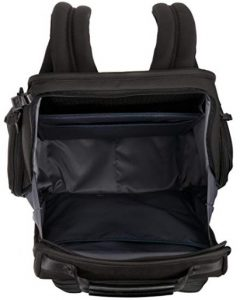 mochila Tumi negocios Alpha2 para portátil tejido interior
