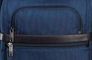 Tumi mochila T-pass Alpha 2 azul marino cremalleras frontales
