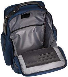 Tumi mochila T-pass Alpha 2 azul marino tejido interior