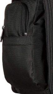 Tumi mochila t-pass Alpha 2 negra bolsillos laterales