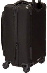 Tumi Alpha 2 equipaje de mano negra diseño trasero