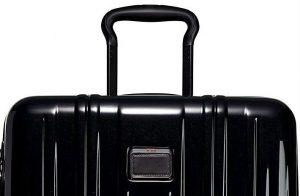 Tumi maleta V3 expandible negra asa superior