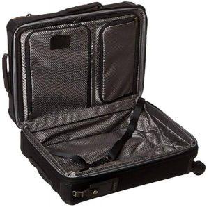 Tumi maleta hickory negra diseño interior
