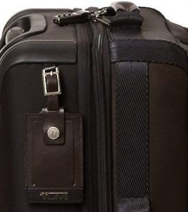 maleta tumi hickory negra cremalleras