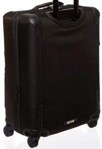Tumi maleta hickory negra diseño trasero