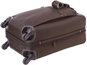 Tumi maleta internacional marrón ruedas