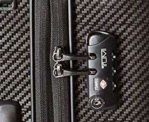 Tumi maleta Tegra Lite Schwarz grafito candado