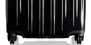 tumi maleta v3 negra diseño inferior