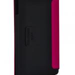 Tumi funda de piel rosa para iPad diseño trasero