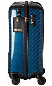 Tumi Tegra Lite azul diseño lateral