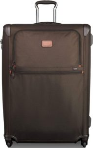 Tumi trolley Alpha 2 extensible marrón vista general