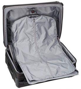 maleta tumi trolley alpha 2 negra interior