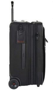 tumi trolley alpha 2 negro 022020d2 diseño lateral