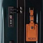 tumi trolley verde botella hunter candado de seguridad