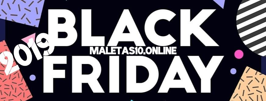Black Friday maletas descuentos 2019