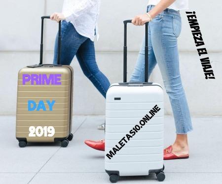 Ofertas y descuentos Prime Day maletas
