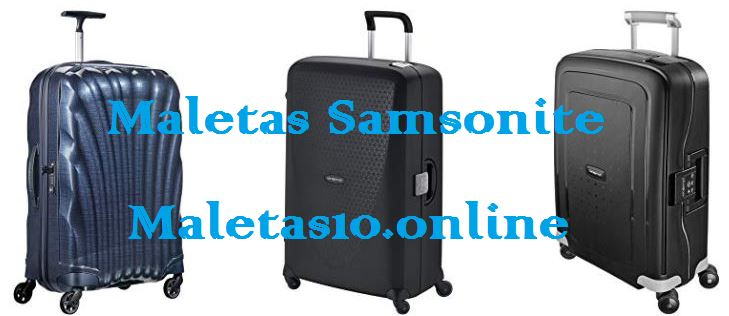 maletas samsonite