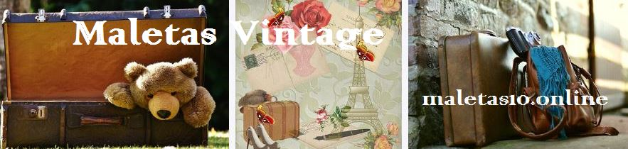 maletas vintage baratas
