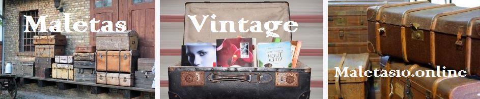 maletas vintage comprar